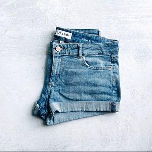 DL1961 • pennel denim shorts